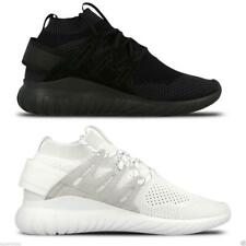 Adidas Originals Women's Tubular Nova Primeknit Trainers Fitness Gym Black White