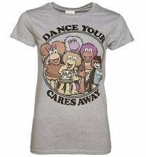 Official Women's Fraggle Rock Dance Your Cares Away T-Shirt