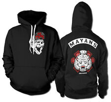 SONS OF ANARCHY LOS MAYANS felpa cappuccio hooded sweat-shirt official license