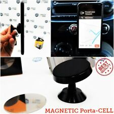 PORTA CELLULARE Auto FIAT 500 Supporto MAGNETICO Smartphone 360° CARPHONE HOLDER