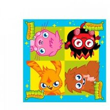 Moshi Monsters Party Tableware Plates Cups Napkins Invites Balloons Variation