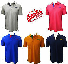 Team Superdry Solid Men's Polo Cotton T-shirt @ Lowest Price (All Colors)