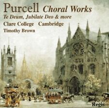 Clare College Choir Cambridge : Purcell Choral Works CD