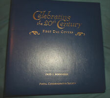 CELEBRATING THE 20th CENTURY First Day Covers Album. 1900 - 1939 60 CARDS