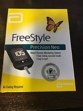 Freestyle Precision Neo Blood Glucose Monitoring System New Expires 2020
