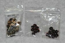 LOT of GLASS EYES - 10-11MM - 2 COLORS - TEDDY BEAR MAKING SUPPLIES