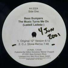 "Bass Bumpers / Magic Box - The Music Turns Me On  12"" Vinyl Schallplatte - 36904"