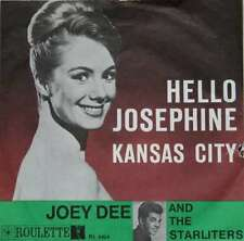 "Joey Dee And The Starliters* - Hello Josephine / K 7"" Vinyl Schallplatte - 9700"