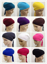 Muslim Inner Cap Women Cotton Easy Headwear Islamic New Hats Amira Soft Hijab
