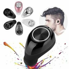 Mini Wireless Bluetooth 4.1 Stereo In-Ear Headset Earphone for iPhone Cell Phone
