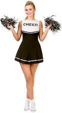 Rachel High School Cheerleader Costume nero nuovo - Donna Carnevale Verk