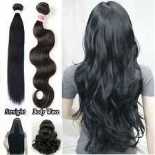 Brazilian Peruvian Human Hair Extensions Real Virgin Body Wave Extension Young
