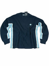 Fred Perry Pullover Strickpullover Navy / Hellblau K8325 608 #6204