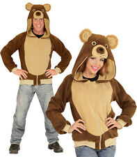 Ours Veste Costume peluche animal NEUF - homme carnaval déguisement costume