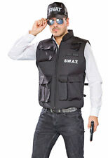 SWAT Gilet Spécial Kommando Costume pour Homme NEUF - homme Carnaval Habillage