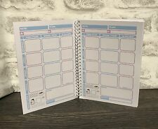 *NEW* 12 Week Food Diary Slimming World Compatible Tracker Journal Planner BK 2