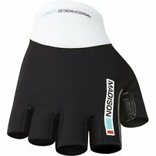 Madison Road Race Mens Cycle Bike Cycling Fingerless Mitts Gloves - Clearance