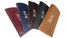 Real Leather Glasses Case Reading, Spectacles,pouch eyecare personalised LOTHS