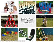 Garden Lawn Games Giant Party Game Beach Childrens Kids Boys Girls Fun Toys Gift