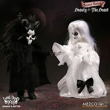 Living Dead Dolls BEAUTY AND THE BEAST set Mezco In Stock