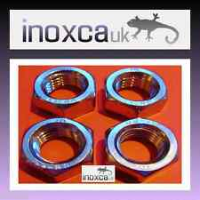 A4 FULL HEX NUTS STAINLESS STEEL M2 - M36 HEXAGON NUT MARINE GRADE 316 DIN 934