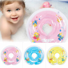 Cute Baby Kids Child Bath Infant Swimming Neck Float Inflatable Tube Safety Ring
