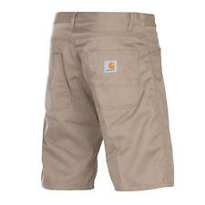 Carhartt Skill Short leather rinsed beige
