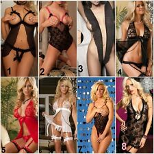 Sexy Lingerie Baby doll  Chemise Body stockings  Nightwear G-string  Thong