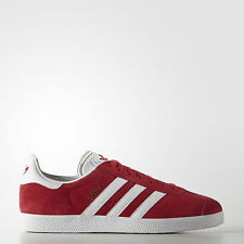 ADIDAS ORIGINALS GAZELLE SNEAKERS SHOES SCARPE UOMO MAN LEATHER S76228 ROSSO RED