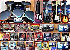PS3 GUITAR HERO WAHL:LIVE, World Tour, Aerosmith, Hits, GH 1,2,3, Rock BAND,TOUR