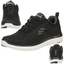 Skechers Skech Flex Advantage 2.0 The Happs Herren Sneaker Fitness Schuhe black