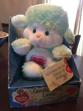 Vintage Care Bear Gentle Heart Lamb Cousins Plush In Original Box By Kenner 1985