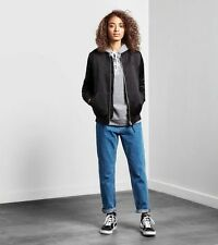 PANTALONE CARHARTT W'PAGE CARROT PANT MABLETON BLUE STONE WASHED NEW JEANS DONNA