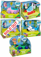 Fisher-Price Bubble Guppies veicolo e statuetta GIOCHI RARE UK Stock
