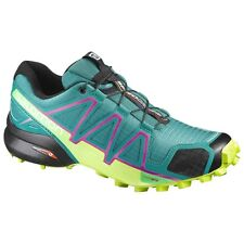 zapatos TRAIL RUNNING Mujer SALOMON SPEEDCROSS 4 W Deep Pavo real