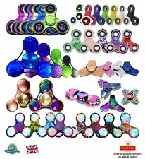 FIDGET SPINNER Hand Focus Toy Finger Steel Spinner EDC ADHD Pocket Desk Toy B3