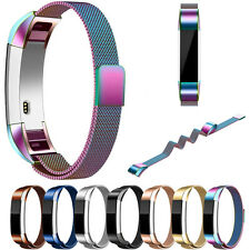 Milanese Magnetic Loop Stainless Steel Watch Band Strap Bracelet For Fitbit Alta