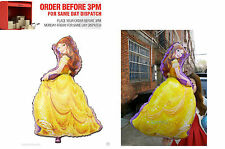 LARGE Princess BELLE balloon Decoration girl birthday party FAST DELIVERY