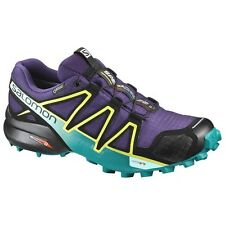 zapatos TRAIL RUNNING Mujer SALOMON SPEEDCROSS 4 GTX W Acai Deep