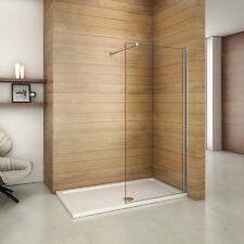 Wet Room Shower Enclosure 8mm Glass Screen Cubicle Panel Walk in 1950