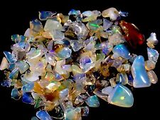 19.5ct. Ethiopian Welo Crystal Opal Gem Chips/polished Pieces. Nice Flash