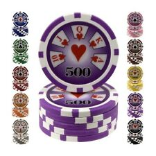 ★Fiches / Chips Poker ROYAL 14 gr - Valore 500 - RF500