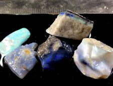 Great Colors 60cts. Australian Mintabie Crystal& Semi Black Opal Gem Rough