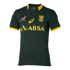 Asics South Africa Rugby Springboks Home Fanwear Match Shirt 2015