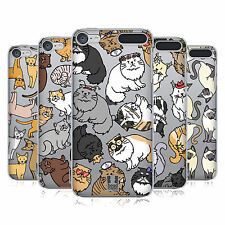 HEAD CASE DESIGNS CAT BREED PATTERNS HARD BACK CASE FOR APPLE iPOD TOUCH MP3