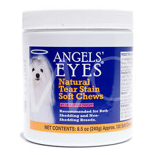 ANGELS EYES FOR DOGS NATURAL TEAR STAIN REMOVER ANGEL'S SOFT CHEWS