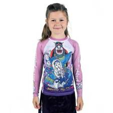 Tatami Alice In Jiu Jitsu Land Kids BJJ Rash Guard Childrens Jiu Jitsu Top MMA
