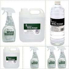 Bird Brand White Vinegar Cleaning Solution Limescale Glass Cleaner Stain Remover