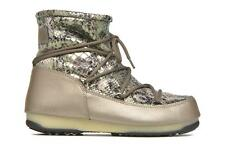 Donna Moon Boot We Low Snake Scarpe Sportive Verde