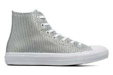 Donna Converse Chuck Taylor All Star Ii Hi Perf Metallic Leather Sneakers